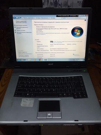 бюджетный ноутбук ACER TravelMate 2300 модель ZL1