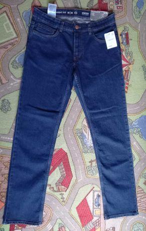 мужские джинсы C&A Stright Fit (Germany) size 32/32 новые!