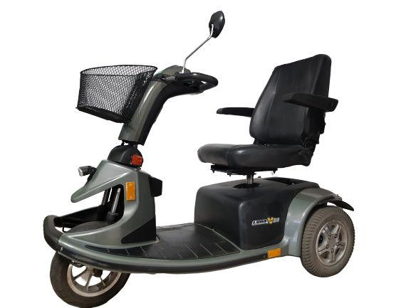 skuter inwalidzki elektryczny wózek trzykołowy MOCNY LUNA victory