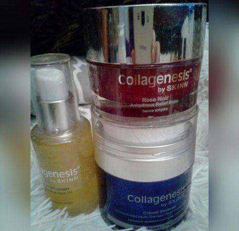 Zestaw Collagenesis by Skinn przeciwzmarszczkowy z USA