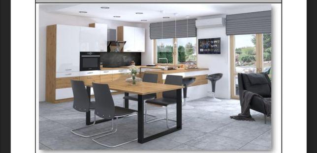 Stół Artistico, loft, loftowy styl, industrialny, ława, polski produkt