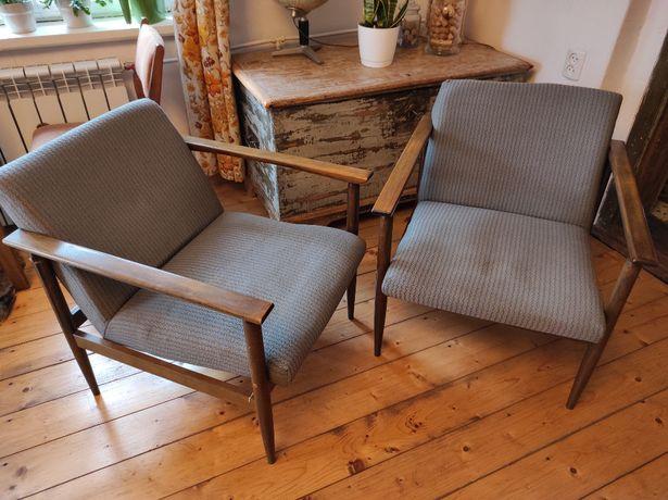 Fotel tapicerowany BW-20 typ 300-193 PRL vintage / Cena za komplet