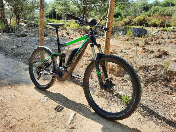 Bicicleta eléctrica ebike cube 140mm