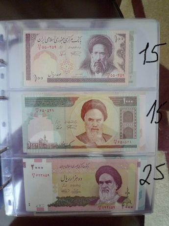 Банкноти Азії бони Є також Європа і Африка