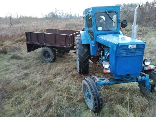 Трактор Т40 з прицепом, навісним, запчастинами, колесами, можна окре