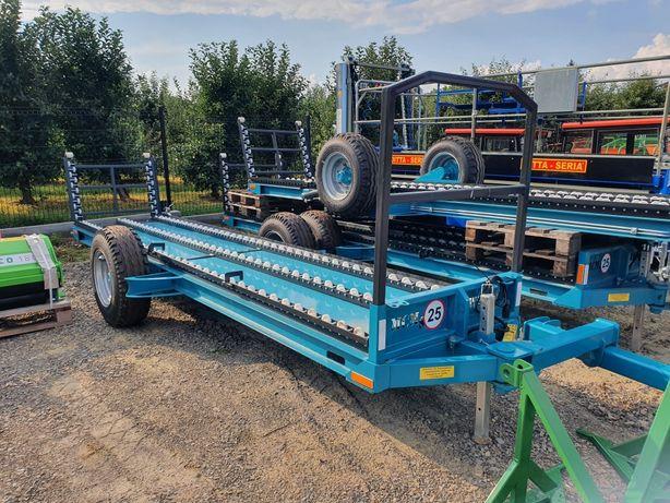Przyczepa sadownicza MCMS WARKA PW-490 wózek sadownicza