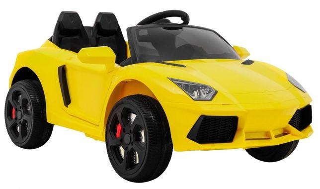 Sportowy samochód aLa Lambgorhini na akumulator PILOT Miękkie Koło
