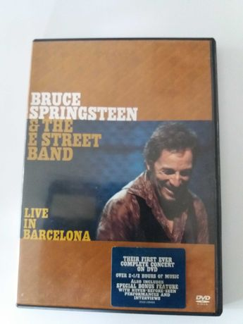 DVD Bruce Springsteen em bom estado de conservação