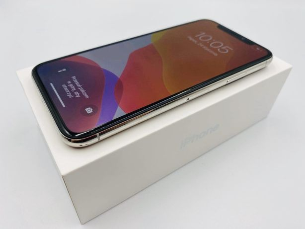 PROMOCJA • iPhone X 64GB Silver • GWARANCJA 1 MSC • AppleCentrum