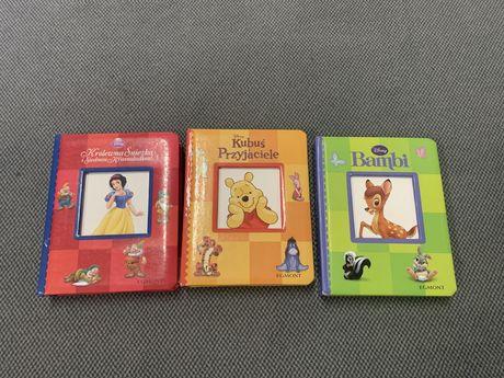Komplet 3 szt. książeczek dla dziewczynki Disney