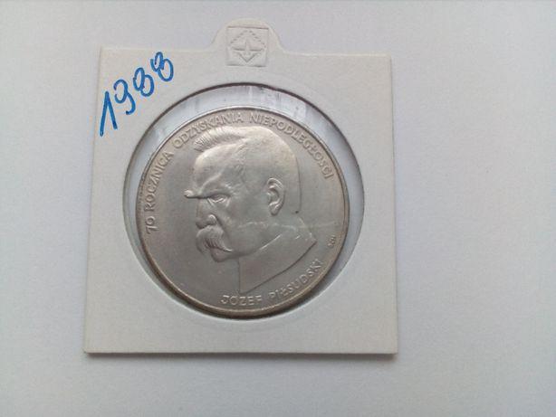Polska 50 000 złotych, 1988 rok - 70 rocznica odzyskania niepodległośc