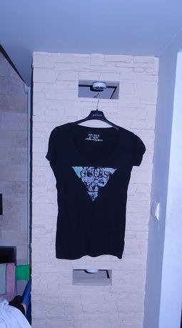 Bluzka tshirt guess M gratis spodniczka