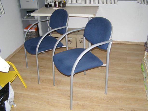 Krzesło metalowe do domu lub biura.