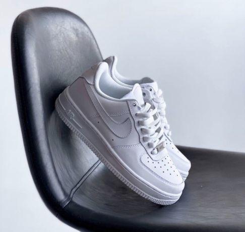 Женские Кроссовки Nike Air Force 1 White 36-45 / Найк Аир Форс 1 Белые