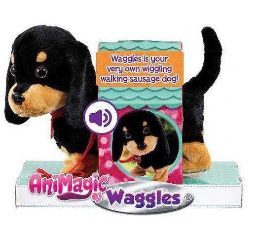 Animagic Waggles Interaktywny piesek jamnik