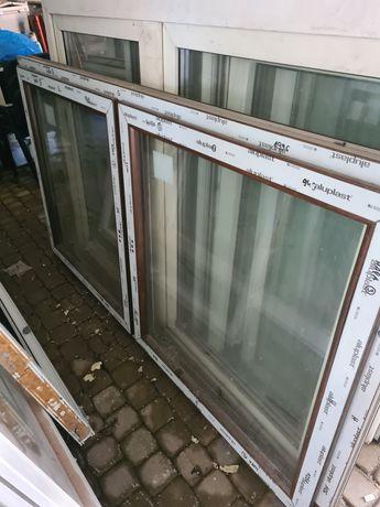 Okno pcv z demontażu do altany