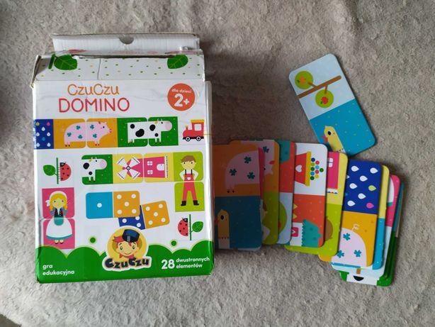 Domino Czu Czu gra edukacyjna układanka +2