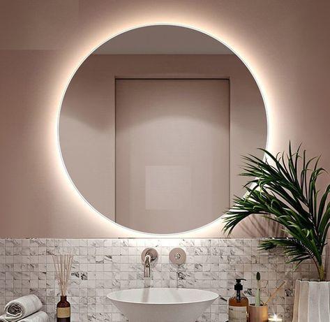 Акция! Зеркало с LED Подсветкой для ванной 55 см- 975 грн!Производство