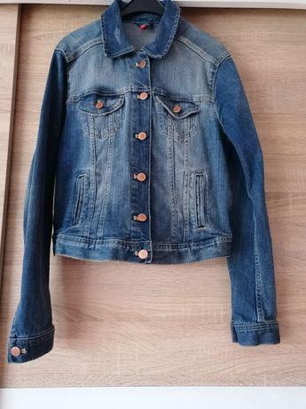 Kurtka, katana jeansowa H&M rozmiar M