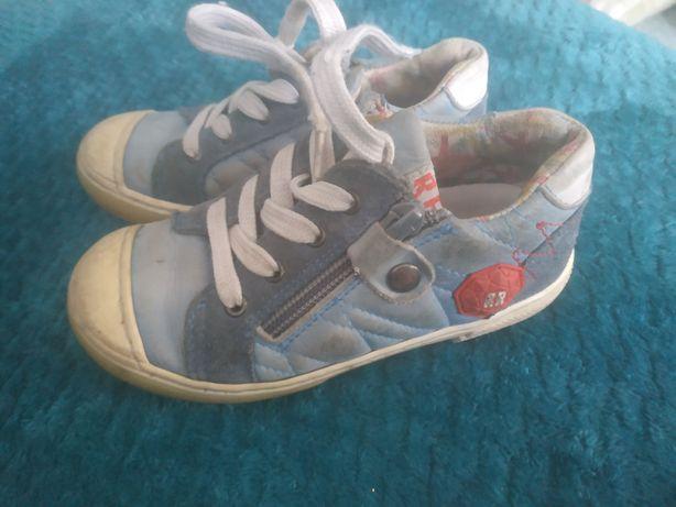 Red Rac buty skórzane chłopiece 27