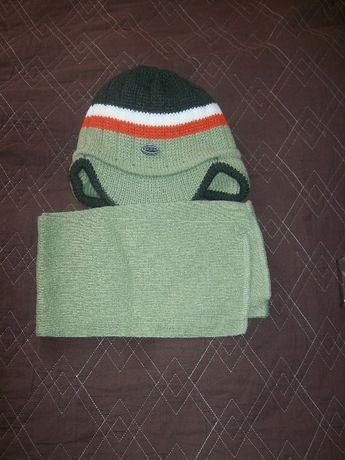 nowe czapka + szalik nowe dla dziecka 3-4 latka