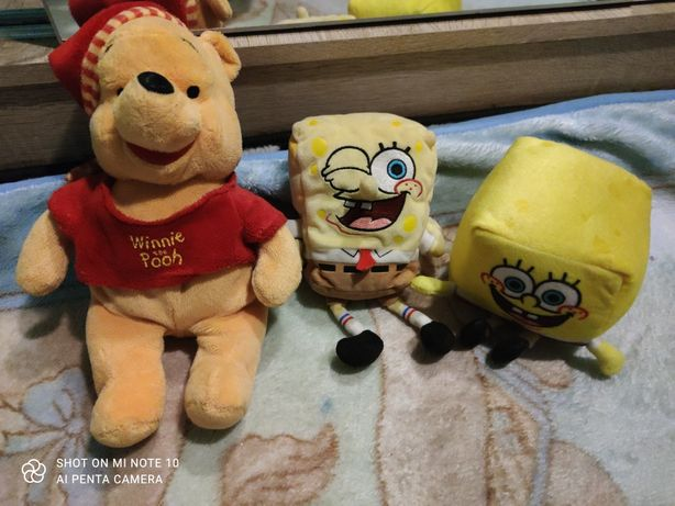 Spongebob / Kubuś Puchatek / pluszaki /zabawka