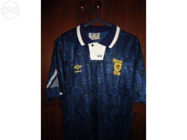 Camisolas futebol oficiais - Escócia, Schalke04, Brasil