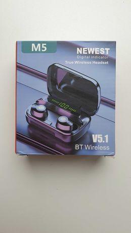Беспроводные наушники M5 v5.1 BT wireless(Новые)