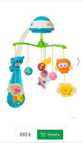 Мобиль bambi fs карусель с проектором игрушки детские