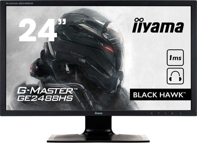 Monitor iiyama G-Master GE2488HS Black Hawk 1 Ms Gwarancja
