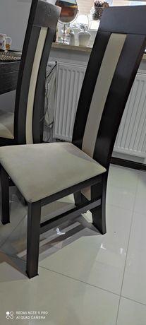 Krzesła krzesło do jadalni 6 szt drewniane design