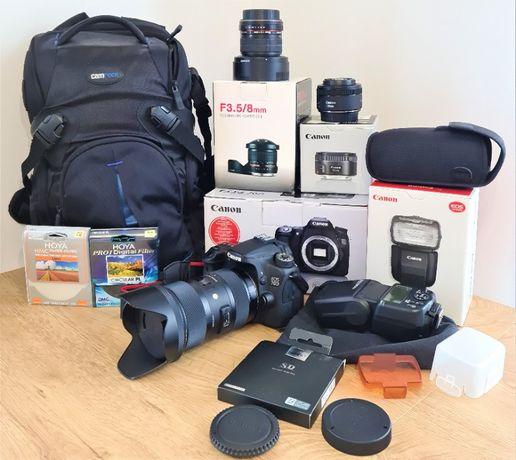Canon 70D Sigma 18-35 1.8 Ar Hoya Pro1
