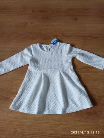 Nowa biała sukienka, Pepco 74