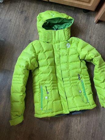 Женская пуховая горнолыжная куртка Scott размер М ( оригинал)