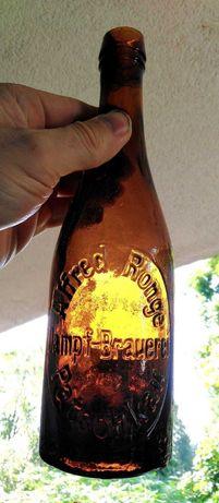 Stara butelka Patschkau Paczków Alfred Ronge Dampf-Brauerei