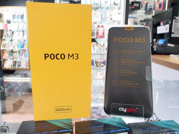 Nowy Poco M3 4GB/64GB - Power Black Faktura VAT