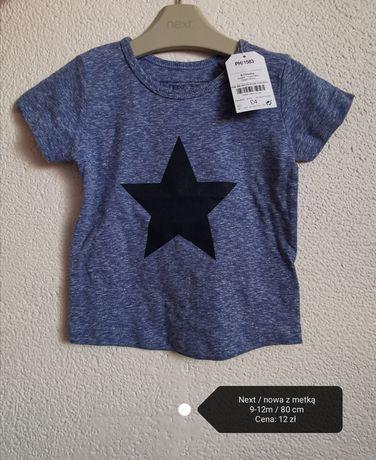 2 x t-shirt Next 9-12m