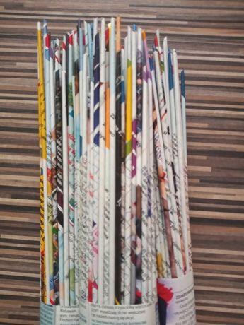 Rurki kolorowe 100 sztuk