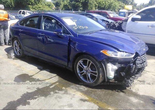 Разборка Ford Fusion Titanium 2013 год