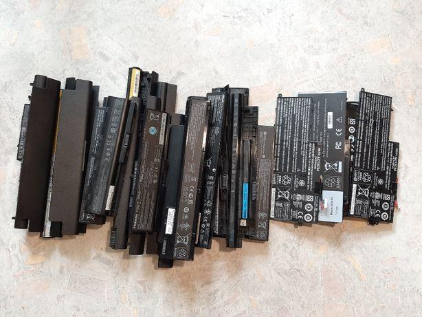 Нерабочие батареи для ноутбуков HP Dell Lenovo Asus