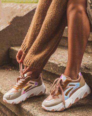 Nowe buty sneakersy 41 pastelowe