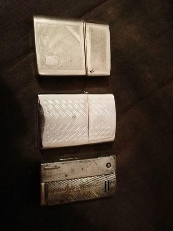 3 stare zapalniczki zippo