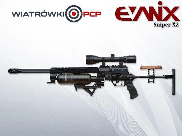 Wiatrówka karabinek PCP Evanix Sniper X2 WiatrowkiPCP.pl