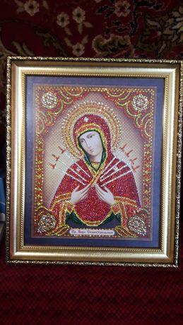 Ікона - Пресвята Богородиця Семистрільна