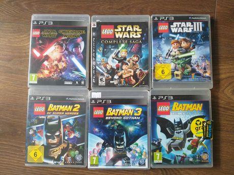 Ps3 PlayStation 3 Lego Batman 1 , 2 , 3  Star Wars