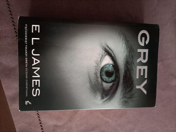 """Książka """"Pięćdziesiąt twarzy Greya"""""""