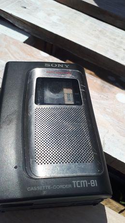 Dyktafon SONY TCM-81