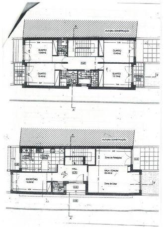 Terreno para construção de moradia de 2 frentes, lote com 346,70 m2...