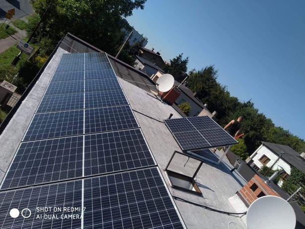 Kompletna instalacja fotowoltaiczna 10 KW 455W, Wifi, raty, dotacja