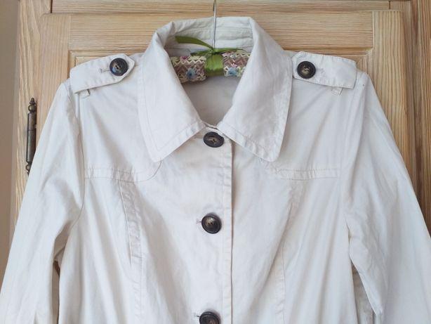 Płaszcz damski bawełniany wiosenny letni r 38-40